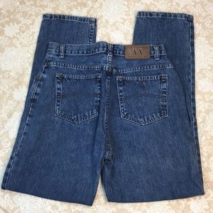 Armani Exchange Straight Leg Jeans